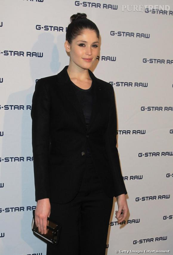 Gemma Arterton à la soirée G-Star RAW: London RAW Night à Londres.