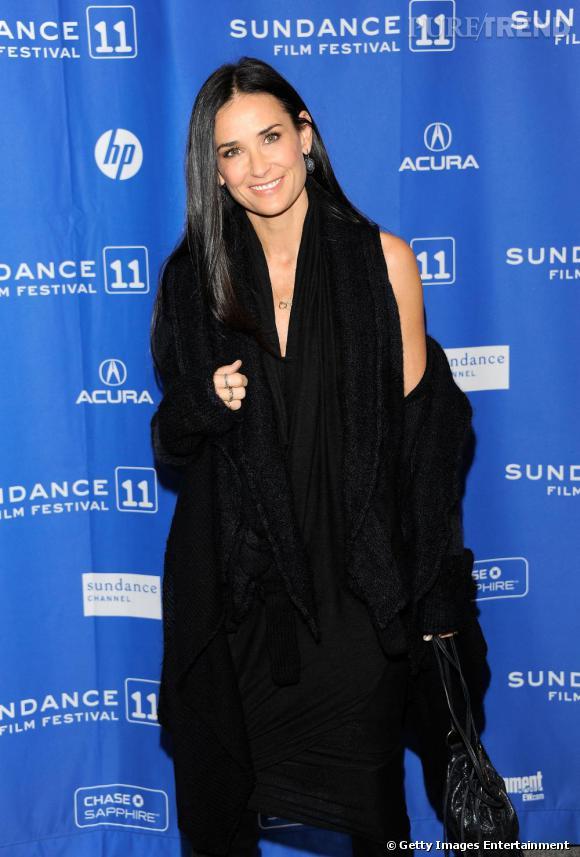 Demi Moore à la première de Another Happy Day, lors du Festival du Film Sundance.