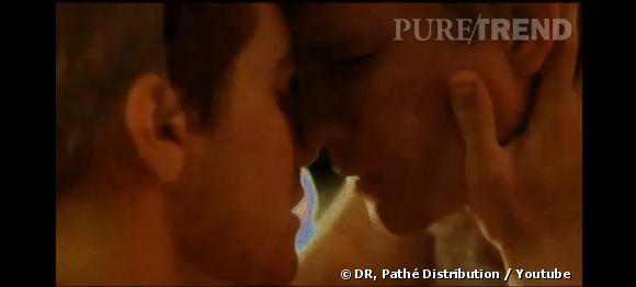 """Véritable symbole de l'évolution des moeurs au cinéma, l'histoire d'amour entre Heath Ledger et Jack Gyllenhall dans """"Brokeback Mountain"""". Film qui se verra d'ailleurs remettre le prix du MTV's Best Movie Kiss Awards en 2006."""