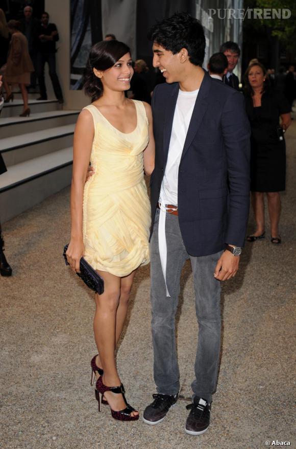 Casting Puretrend : le couple Dev Patel et Freida Pinto du ... Freida Pinto Married