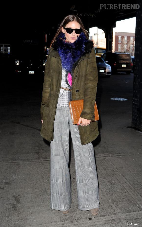 Olivia, une modeuse au style affirmé.