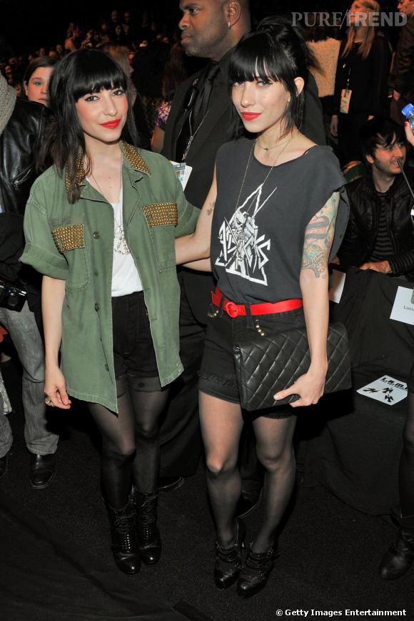 Lisa et Jessica Origliasso des Veronicas étaient au premier rang pour découvrir la nouvelle collection de Gwen Stefani pour L.A.M.B.