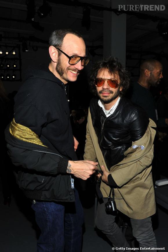 Les photographes Terry Richardson et Olivier Zahm toujours aussi copains, chez Calvin Klein.