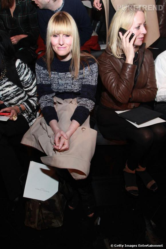 La délicieuse Amy Astley rédactrice en chef de  Teen Vogue  chez Ralph Lauren Collection.