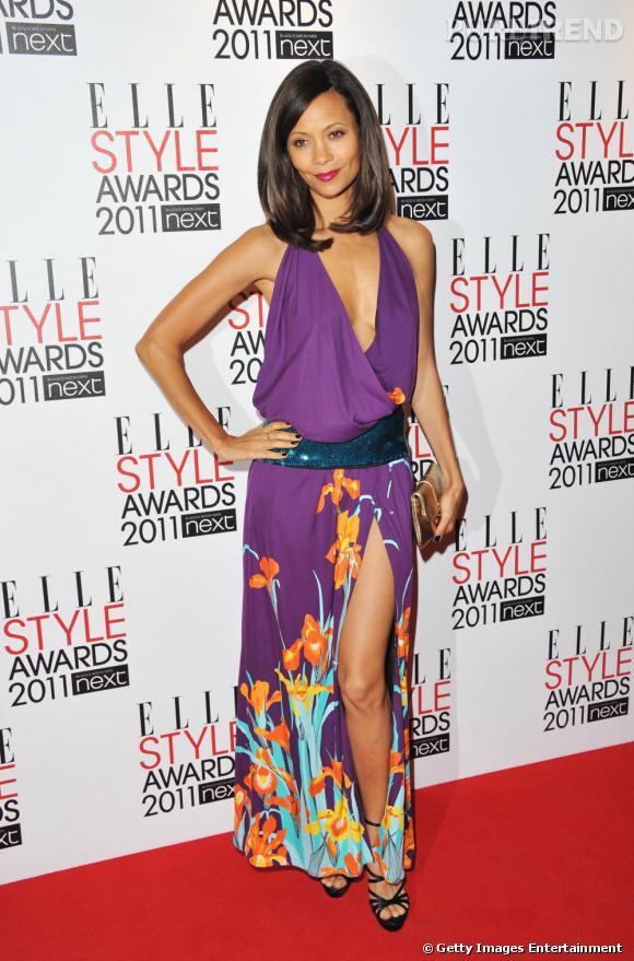 Thandie Newton, beauté exotique, sublimée par Louis Vuitton printemps-été 2011.
