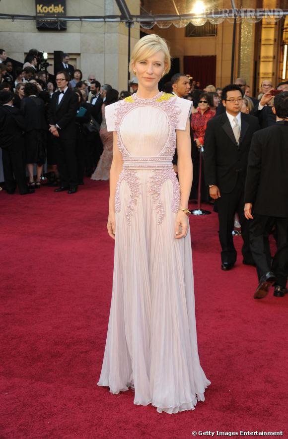Cate Blanchett, impressionnante en robe Givenchy Couture printemps-été 2011.