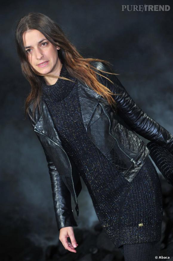 L'actrice Joana Preiss chez Chanel.