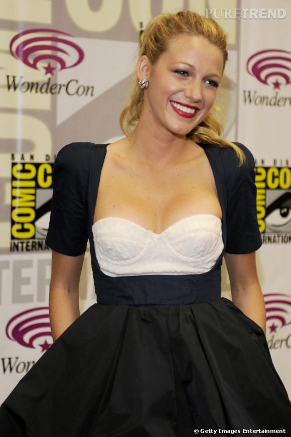 Blake Lively au WonderCon 2011, à San Francisco, pour la promotion de The Green Lantern.