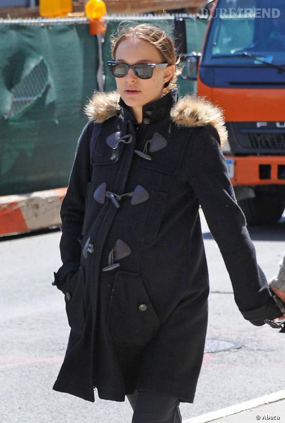 Natalie Portman en balade dans les rues de New York.