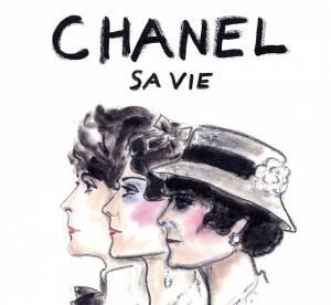 Gabrielle derrière Chanel