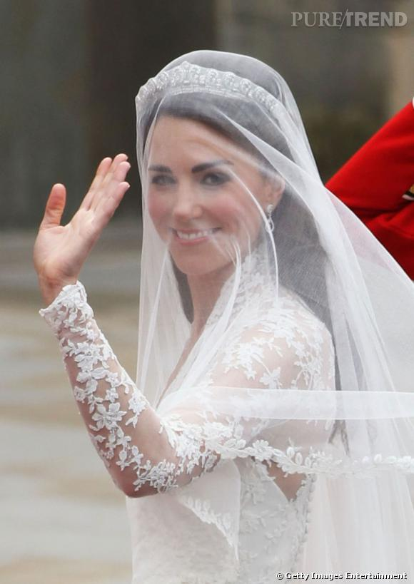 La coiffure de Kate Middleton