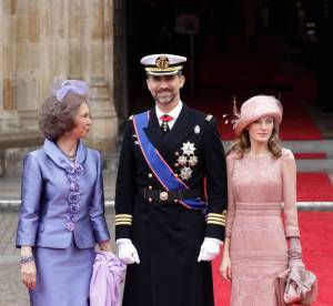 Letizia Ortiz, sublime au mariage de Kate Middleton et du prince William