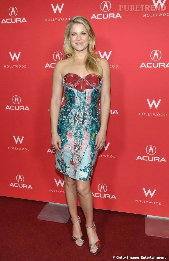 Ali Larter  n'est pas un emblème de la mode. Lors des événements où elle est conviée, l'actrice choisit des robes qui ne la flattent pas.