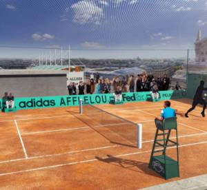 Roland Garros, balle de match aux Galeries Lafayette