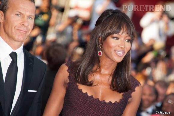 """Naomi Campbell lors de la première de """"The Beaver"""", à Cannes."""