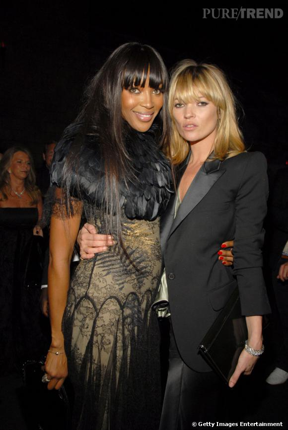 Kate Moss et Naomi Campbell s'aiment...