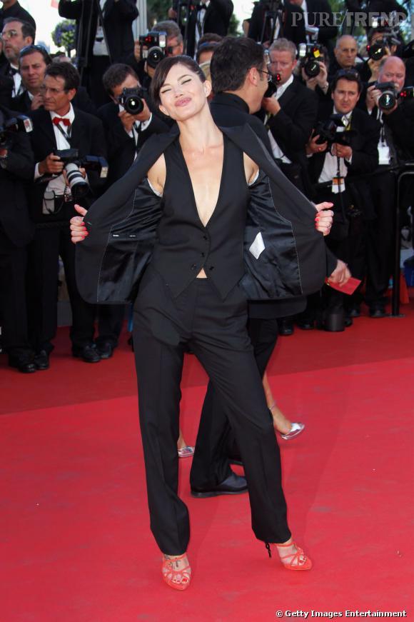 Delphine Chanéac fait son show.