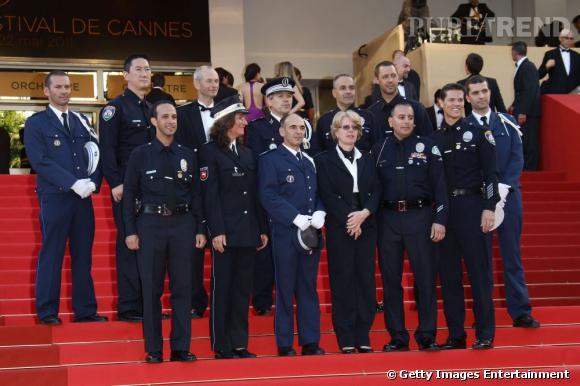 Les policiers de la brigade de Los Angeles.