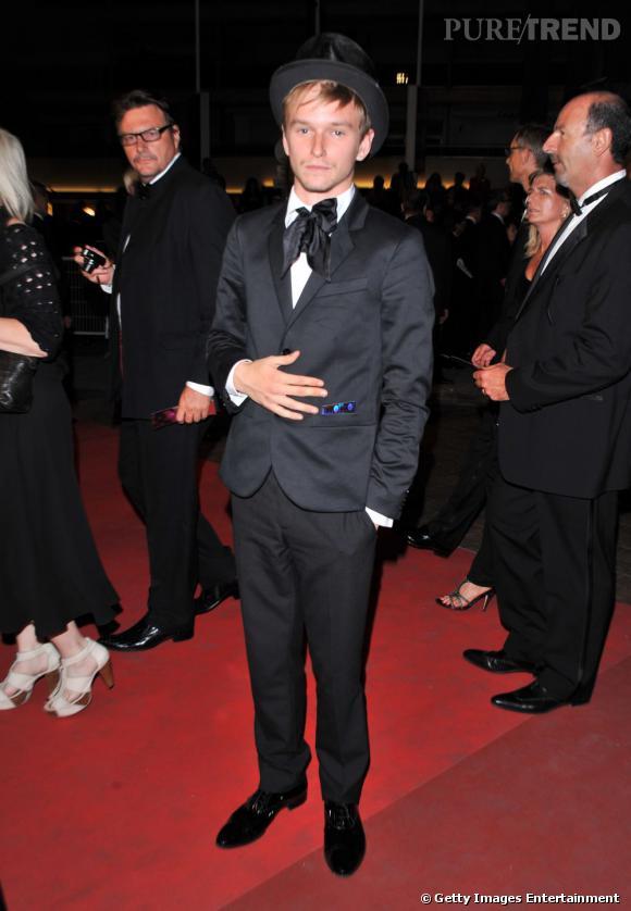 """Henry Hopper, """"fils de"""" et accessoirement new face de Cannes 2011."""
