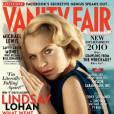"Lindsey Lohan pour ""Vanity Fair"", octobre 2010."