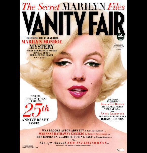 "Marilyn Monroe pour ""Vanity Fair"", octobre 2008."