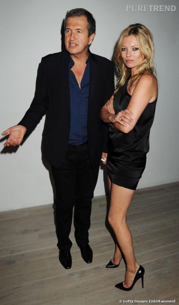Mario Testino, c'est un peu le papou de Kate Moss...