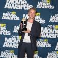 """Tom Felton gagne le prix du """"Meilleur Méchant"""" grâce à Harry Potter."""