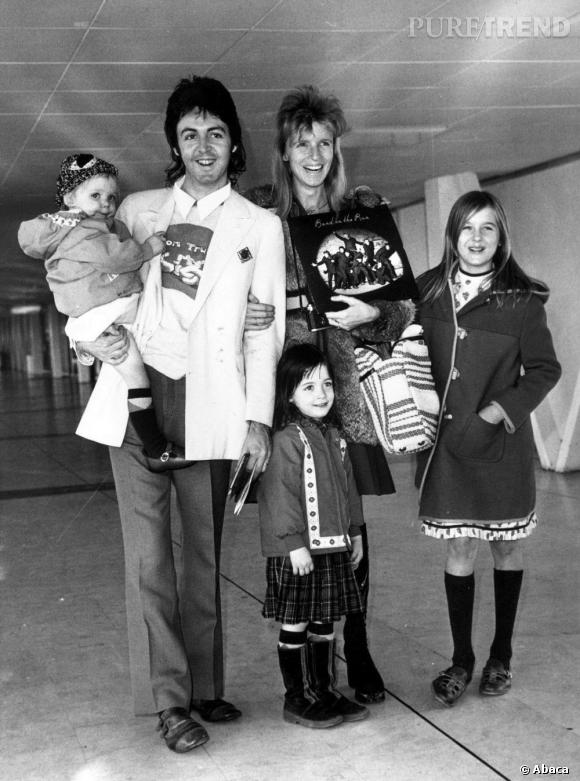 La famille McCartney vintage !