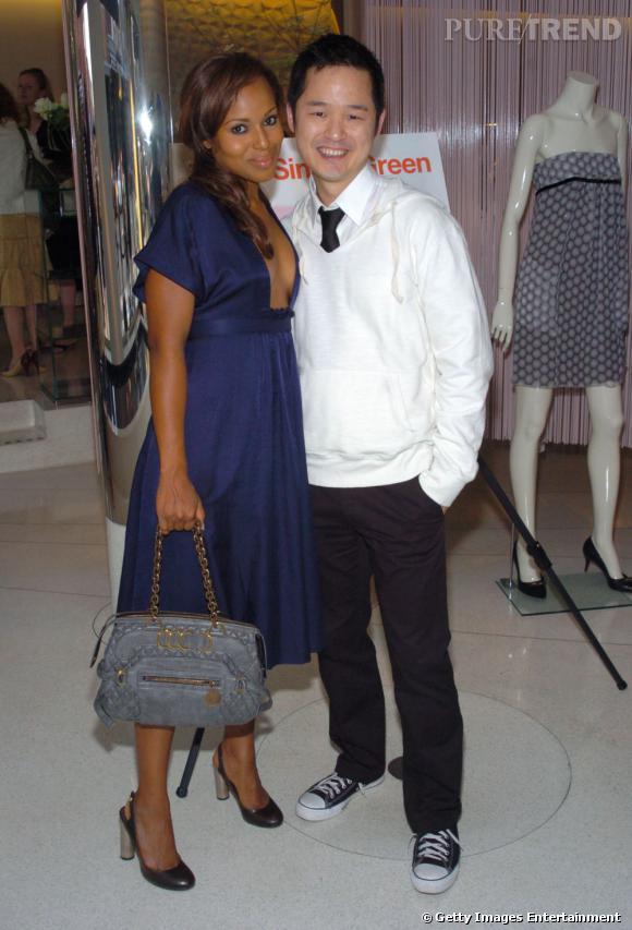 """Danny Seo , spécialiste des vêtements dit """"bio"""" compte parmi ses clientes Kerry Washington."""