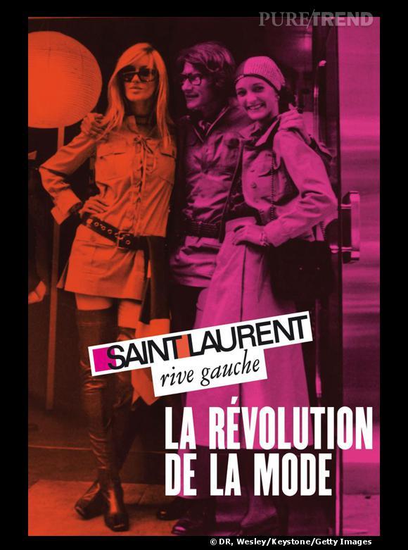 Exposition Saint Laurent Rive Gauche du 5 mars au 17 juillet 2011.