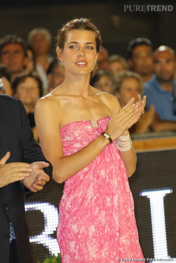 "Charlotte Casiraghi au ""Global Champion Tour 2011"" à Monaco."