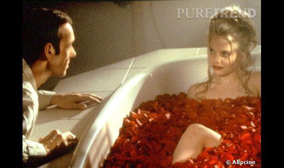 """Le célèbre """"American Beauty"""" qui retranscrit tous les fantasmes d'un père... sur l'amie de sa fille."""