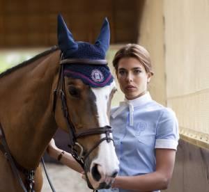 Charlotte Casiraghi en selle avec Gucci
