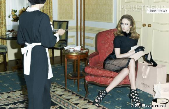 Campagne Jimmy Choo automne-hiver 2011/2012.