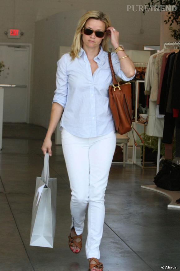 Reese Witherpoon chez Vanessa Bruno à Los Angeles.