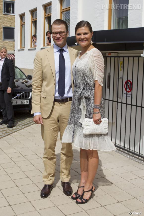 Princesse Victoria et son époux le Prince Daniel.