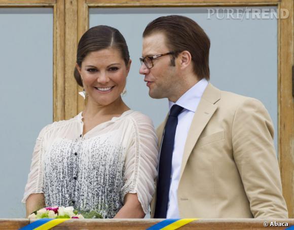 La couple princier semble très complice.