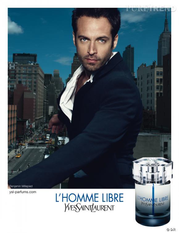 """""""L'Homme libre"""" d'Yves Saint Laurent."""