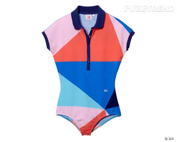 Must Have : Lacoste L!ve    Body polo, 85 €.