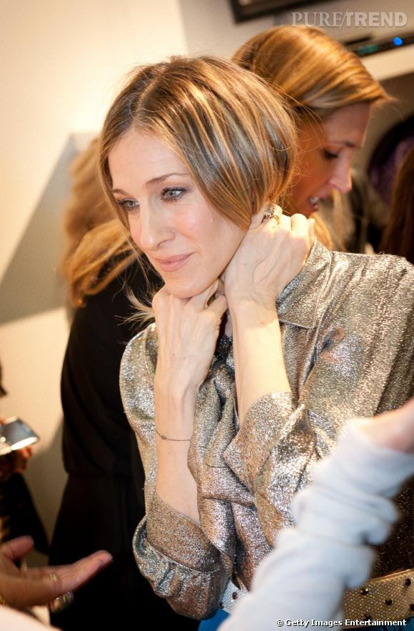 Sarah Jessica Parker à New York, en février 2011.