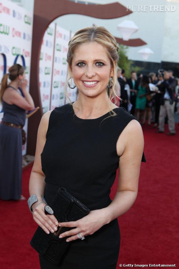 Sarah Michelle Gellar à la soirée CBS, The CW et Showtime en marge du TCA Summer Press Tour à Los Angeles.