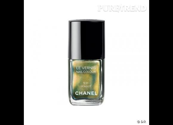 Vernis péridot de Chanel