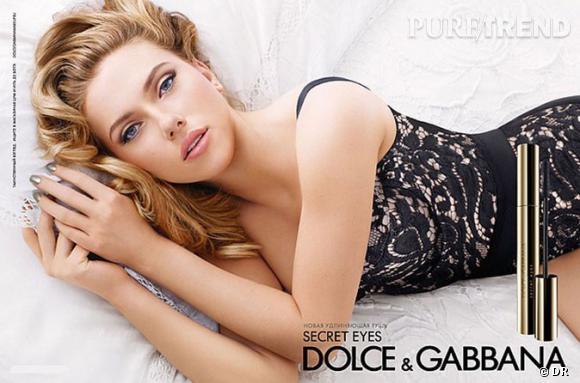 Scarlett Johansson pour Dolce and Gabbana