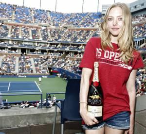 Amanda Seyfried, champagne !