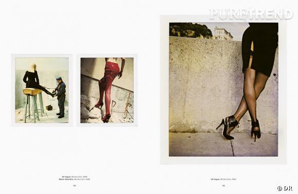 Helmut Newton Polaroids, aux éditions Taschen