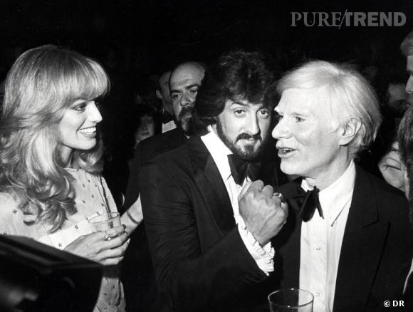 Andy Warhol, Sylvester Stalone, Ron Galella a été le photographe des stars des années 70