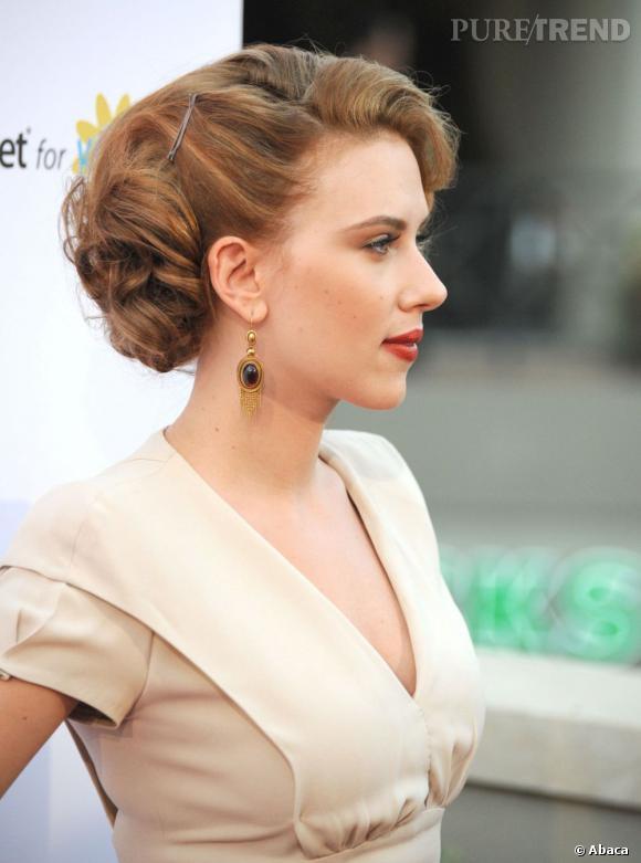 Pour Un Chignon De Mariee Glamour Inspirez Vous De Scarlett