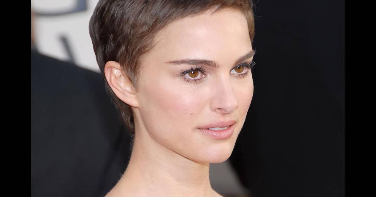 Comme natalie portman misez sur une coiffure simple mais for Visage long fin quelle coupe cheveux femme
