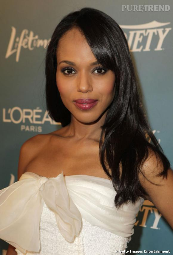 autre tendance coiffure de mari e cheveux cr pus le lisse kerry washington porte ses cheveux. Black Bedroom Furniture Sets. Home Design Ideas