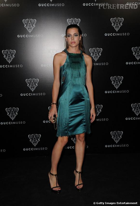 L'égérie Gucci Charlotte Casiraghi était logiquement de la partie.